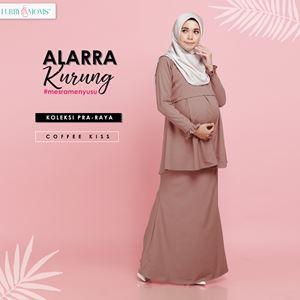 Alarra Kurung - Coffee Kiss (Pre Order : 3nd Batch)