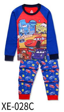 XE-028C 'CARS' Pyjama (2 - 7 tahun)