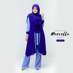 MARVELLA SUIT (SKY BLUE)
