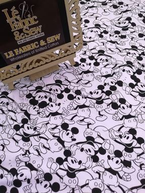 Bonds 01026(Mickey Mania - White)