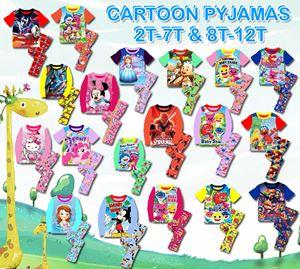 Cartoon Pyjama (2T-7T & 8T-12T)