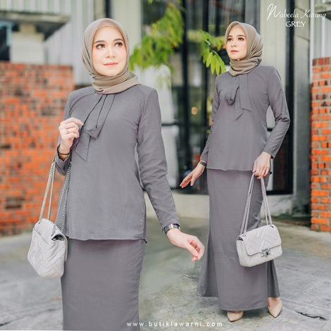 NABEELA KURUNG DARK GREY
