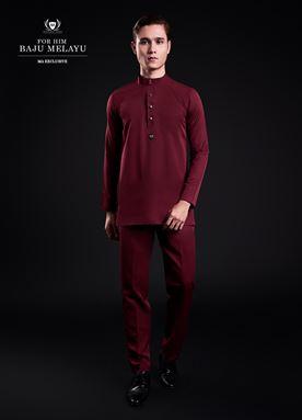 Baju Melayu For Him (Maroon)