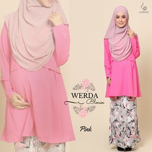 Werda Blouse : Pink