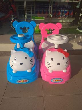 Hello Kitty car walker
