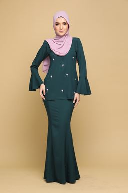ZARRA - EMERALD GREEN (ADULT)