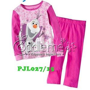 @   PJL027/15 OLAF PINK  ( SZ 2-7Y )
