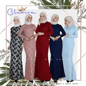 CLEMIRA EXCLUSIVE LACE KURUNG