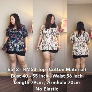 E512  *Ready Stock-Bust 44 to 50 inch/110-127cm