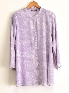 Blouse Chiffon Bellezza - Purple Lilac (Size: 38 - 50)