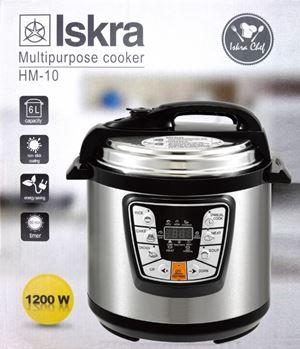 (ISKRA) 6L Electric Pressure Cooker Timer Rice Cooker (ETA 21/6)