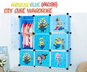 MINION BLUE 9C DIY WARDROBE (MO9B)
