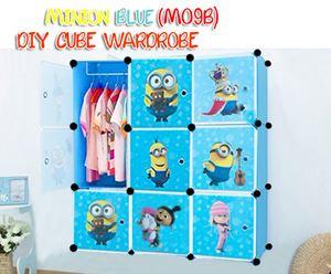 MINION BLUE 9C DIY WARDROBE (MO9B)