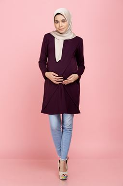 Daissy Blouse - Mulberry
