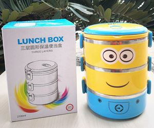 LUNCH BOX MINION LIMITED EDITION - 3 TIER