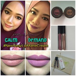 Seqy Matte Lip Cream Combo CALM & DEMAND