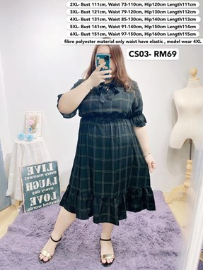 CS03 *Bust 44 to 59 inch/ 111-151cm
