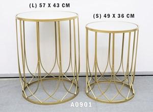 2PCS SIDE TABLE A0901