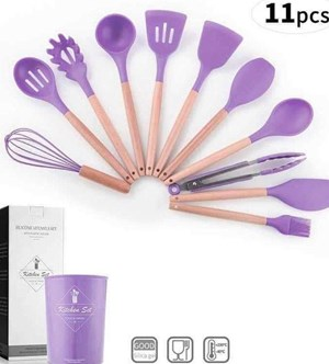 12PCS  KITCHEN TOOLS - PURPLE