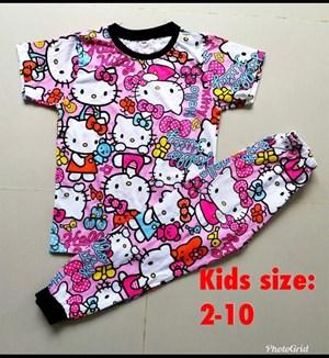 Pyjamas HELLO KITTY PINK RIBBON : KIDS 2-10