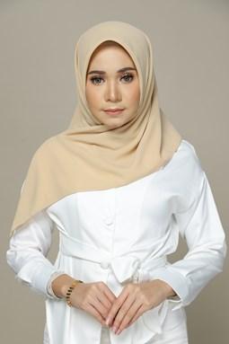 Milea Chiffon Bawal (Buttermilk)
