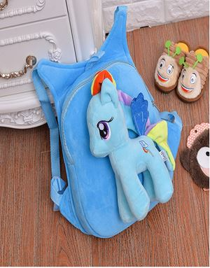 LITTLE PONY BAGPACK BLUE-06