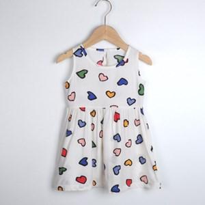 White Love Shape Dress