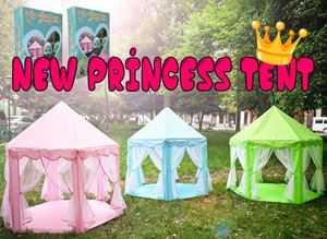 New Princess Tent 3 colour