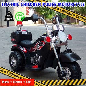 Electric Police Motorcycle Rechargeable