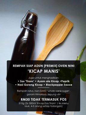 Kicap Manis, Sos Tiram, Ayam Paprik, Ayam ala Kicap, Nasi Goreng Kicap