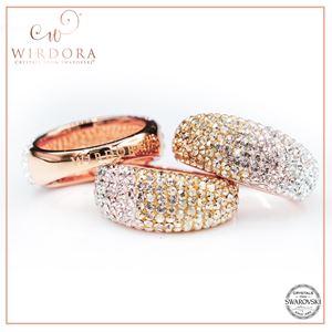 Scarf Ring Zahra Golden Shadow
