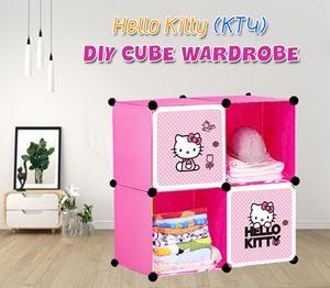 HELLO KITTY 4C DIY WARDROBE (KT4)