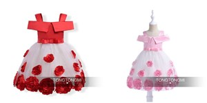 Sleeveless Rose Princess Dress