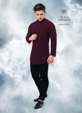 Kurta Ammar For Him (Mulberry)