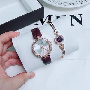 SWR08 A10 Swarovski Elegant Watch Set (Watch + Bangle)