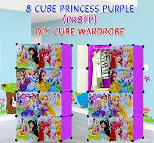 PRINCESS PURPLE 8C DIY WARDROBE (PR8PP)