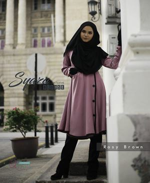 SYAZA EXCLUSIVE ( Rosy Brown )