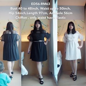 ED56 *Bust 40-48inch/ 101-122cm