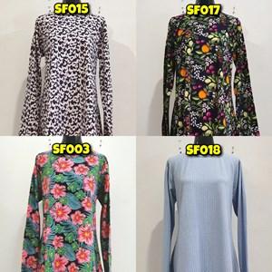 [ KOD SF001 - SF003 , SF013 , SF015 , SF017 , SF018 ] Sofea Blouse (Size XL)