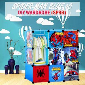 Spider-Man Blue 9C Diy Wardrobe (SP9B)