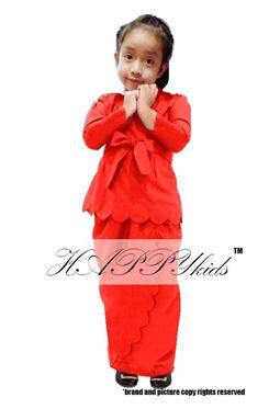 GIRL SALOMA RED ORANGE