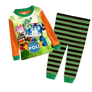 Pyjamas Set - Robocar Poli Orange
