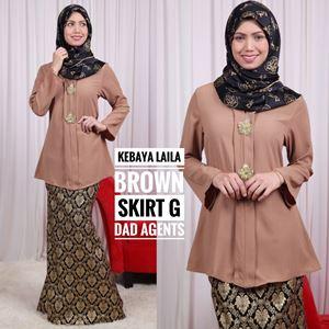 Skirt Songket (Kebaya Laila)