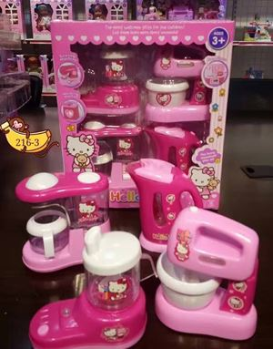 @  HELLO  KITTY TOYS WITH LIGHT/SOUND ( SET C )