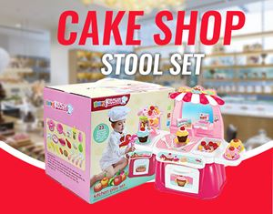 CAKE SHOP STOOL SET
