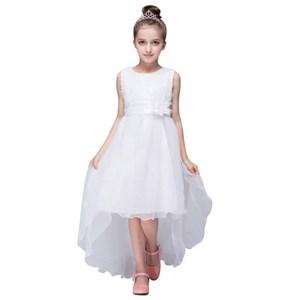 White Flower Bling Sleeveless Dress