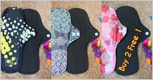Buy 2 Free 1 Cloth Pad L / XL ( YES 2018)