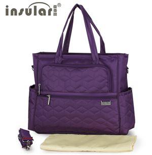 Original Insular Diaper Shoulder Bag - Purple
