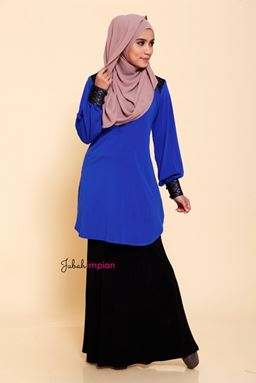 Blouse Estella (Royal Blue)