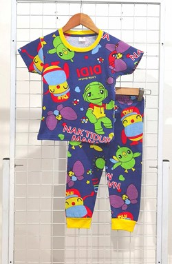 SIZE 2 KIDS Pyjamas DIDI LITTLE SONGBIRD BLUE (GL)